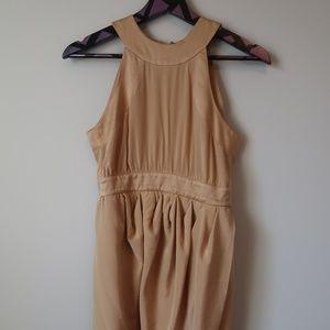 Bebe Satin Halter Neck Wrap Dress Size XXS
